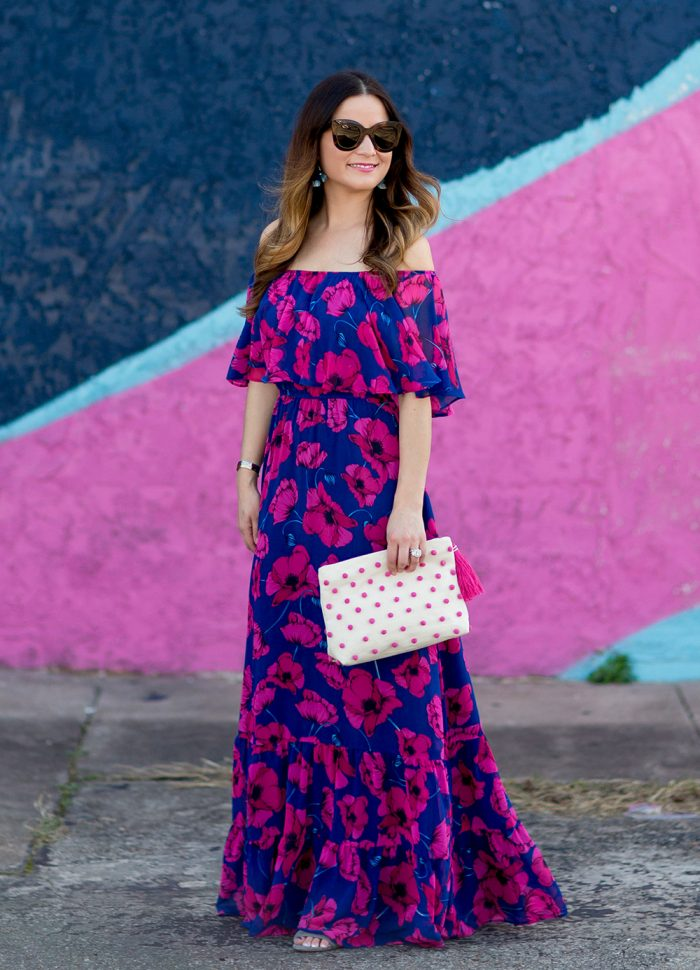 Is this the Best Floral Off the Shoulder Maxi Dress?