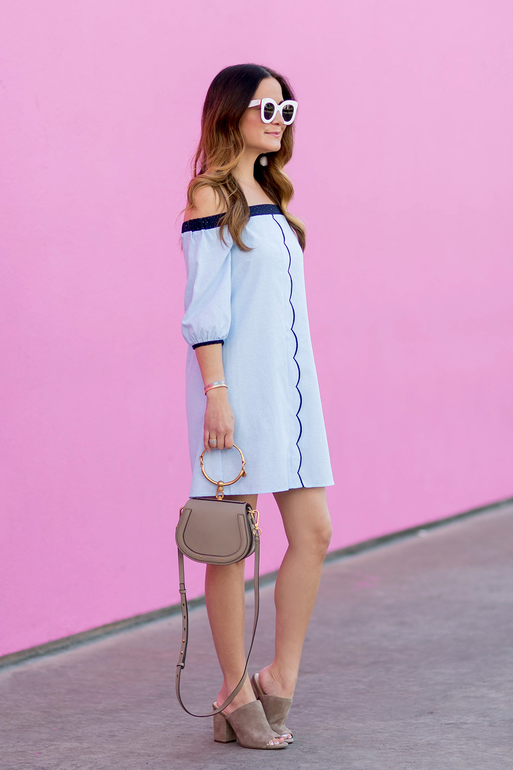 Los Angeles Pink Wall Street Style