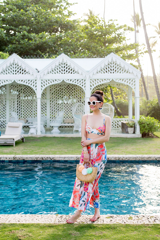 Mara Hoffman Floral Bikini