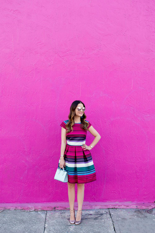 Miami Pink Wall
