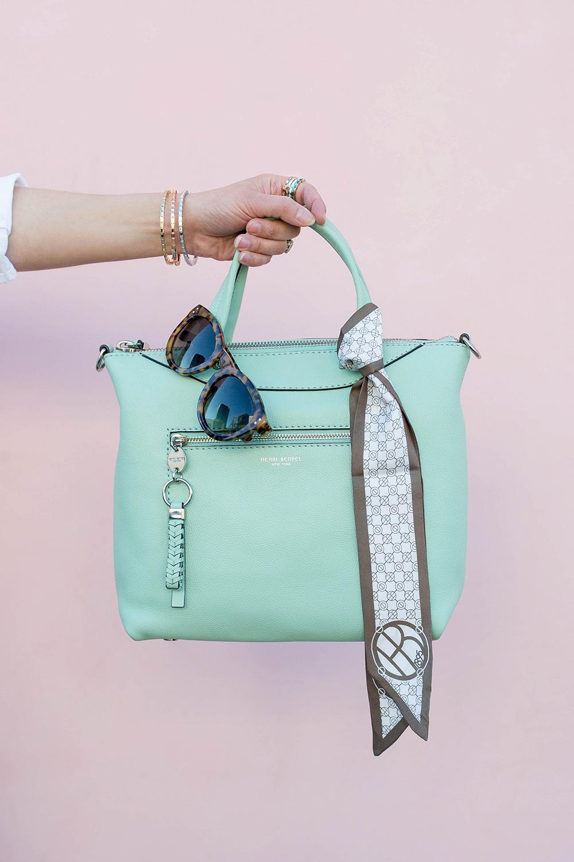 Mint Green Henri Bendel Bag