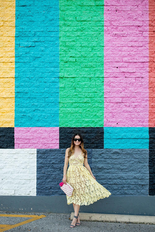 Multicolor Mural Wall Austin