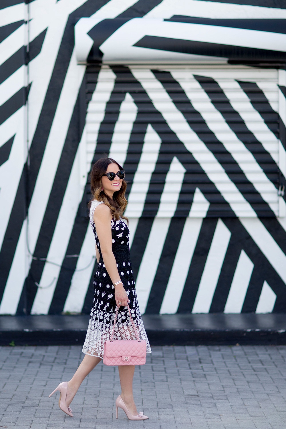 Wynwood Walls Black White Stripes