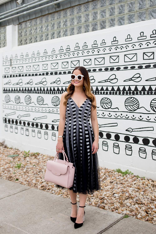 Black White Mural Austin