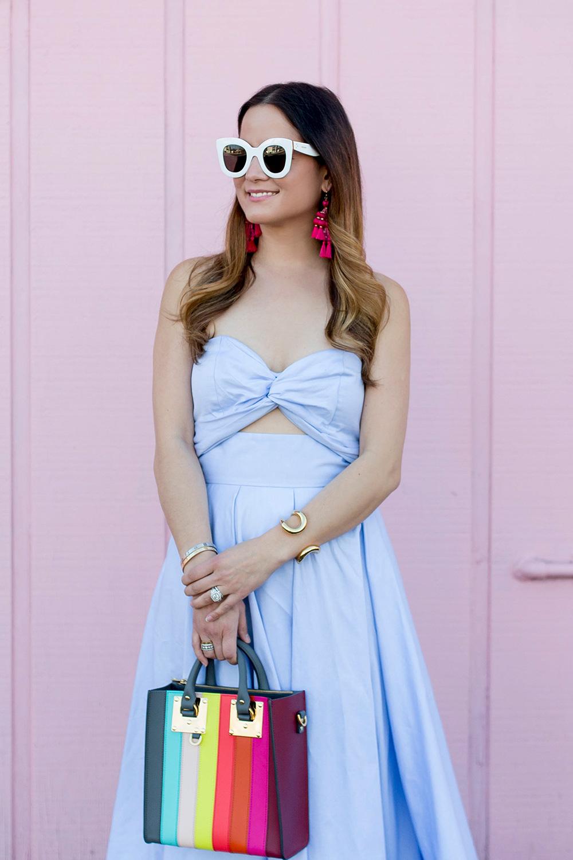 Celine White Sunglasses