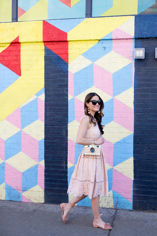 Colorful Geometric Mural New York