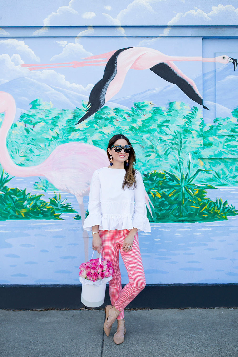 Flamingo Mural Wall Chicago