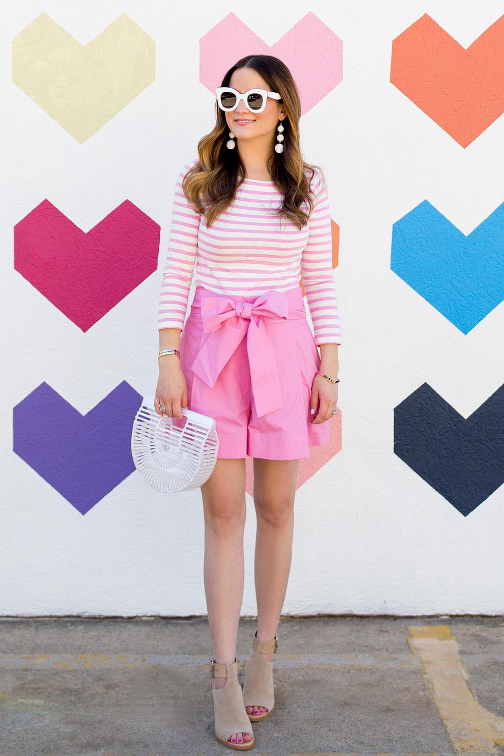 J Crew Pink Shorts
