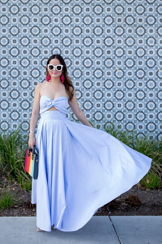 Petersyn Blue Skirt