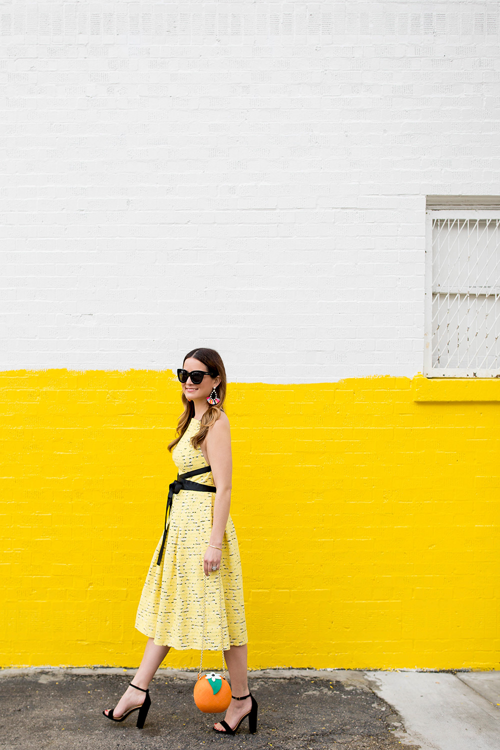 Chicago Yellow Wall