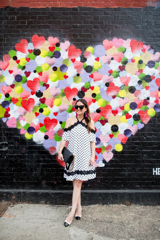 Hektad Hearts Mural New York