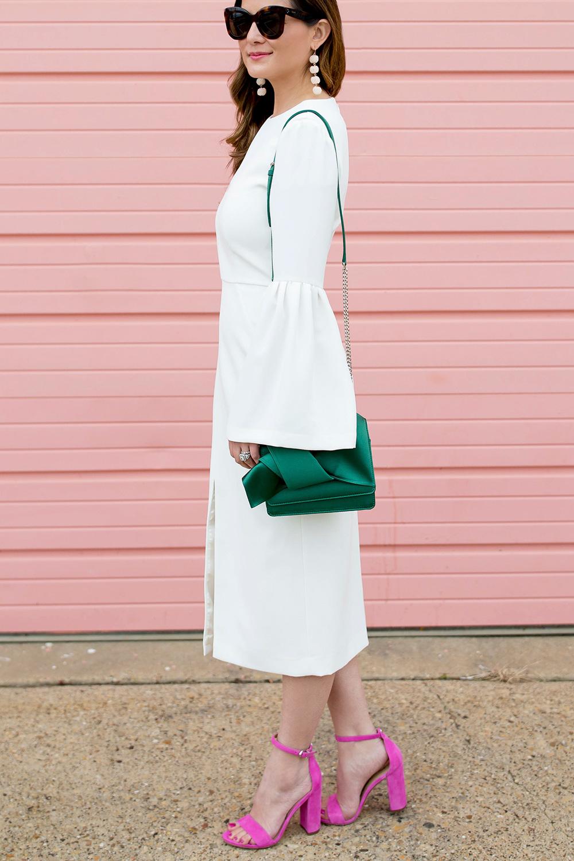 Jill Stuart Bell Sleeve Dress