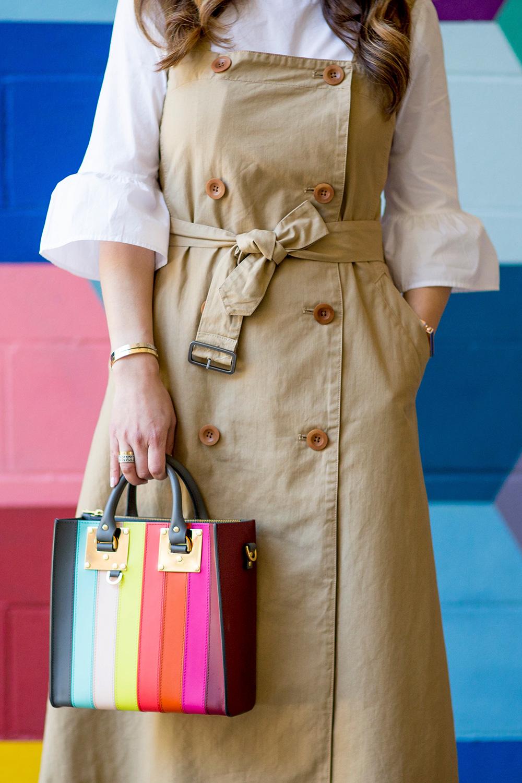 Sophie Hulme Rainbow Bag