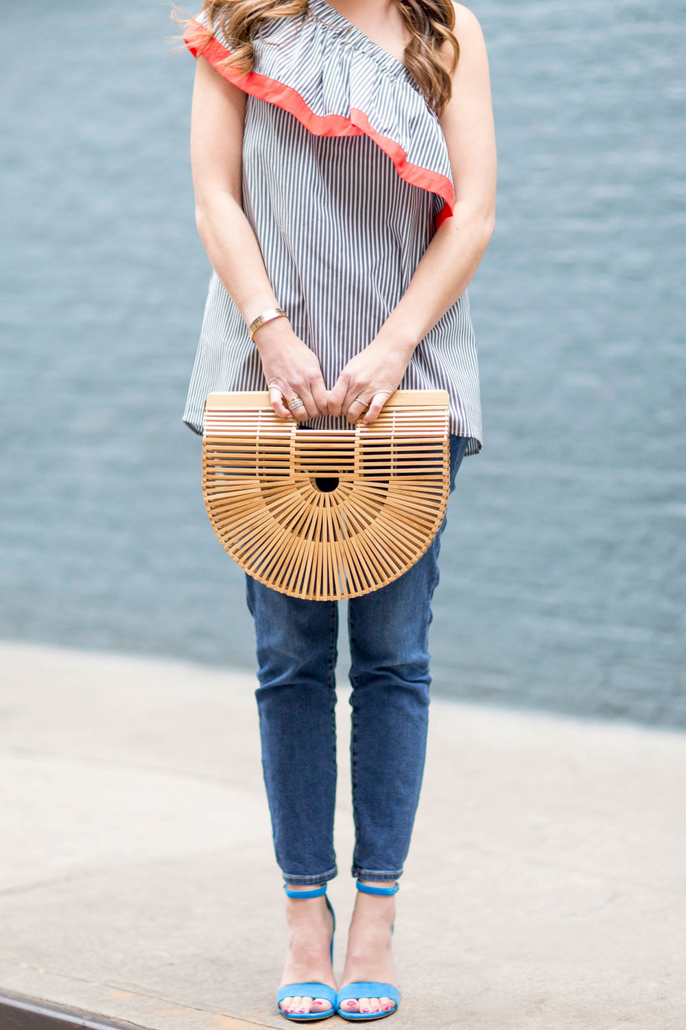 Cult Gaia Wooden Bag
