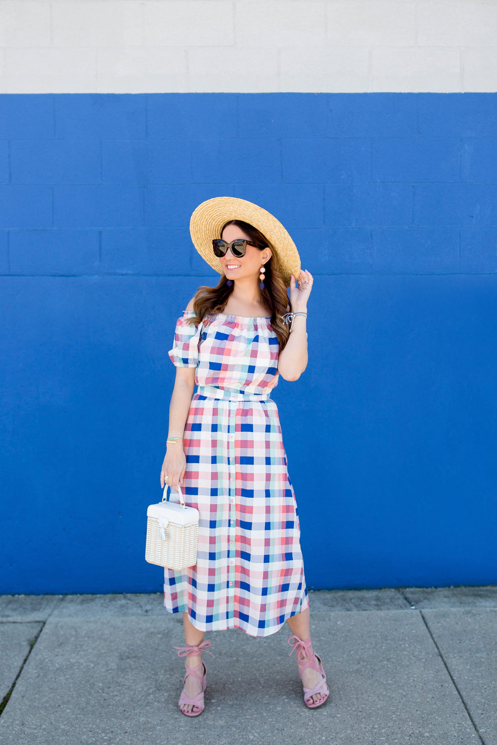 Gingham Co Ord Set