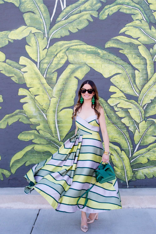 Green Leaf Mural Chicago Eden
