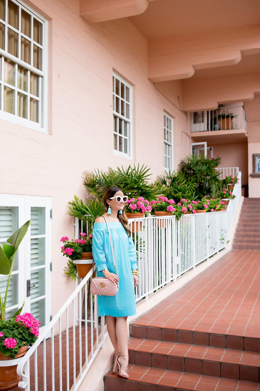 La Valencia Hotel Pink