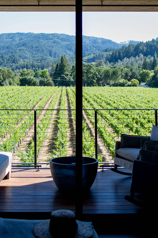 Las Alcobas Napa Valley Vineyard View Room