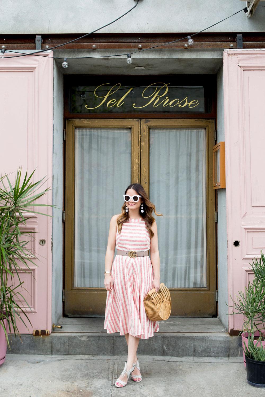 New York City Pink Doors