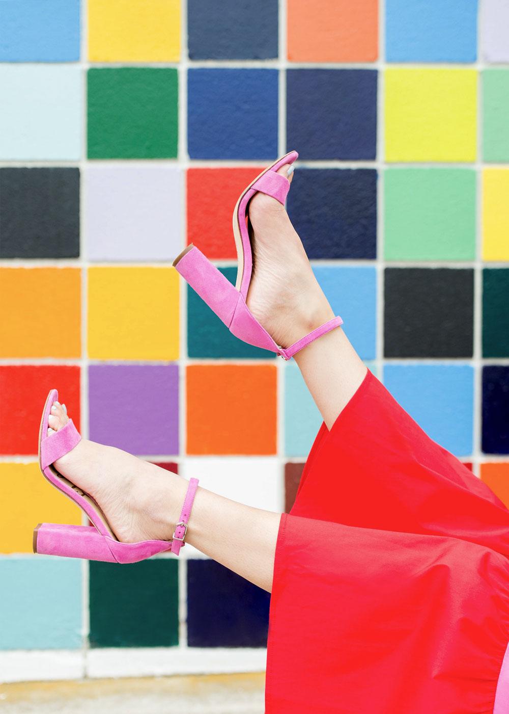 Sam Edelman Pink Yaro Sandals