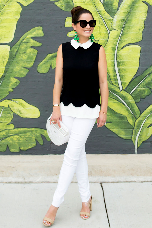 AG Jeans White Denim Fray Hem