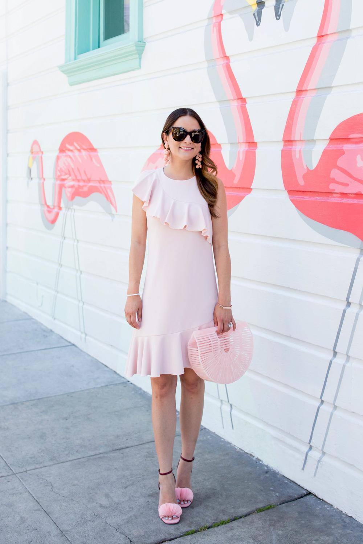 Cult Gaia Small Pink Ark Bag