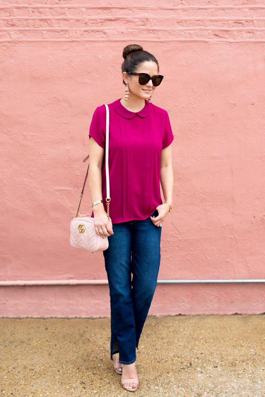 Gucci Matelasse Pink Bag