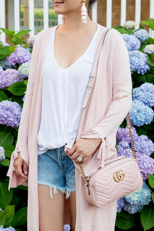 Gucci Pink Matelasse Bag