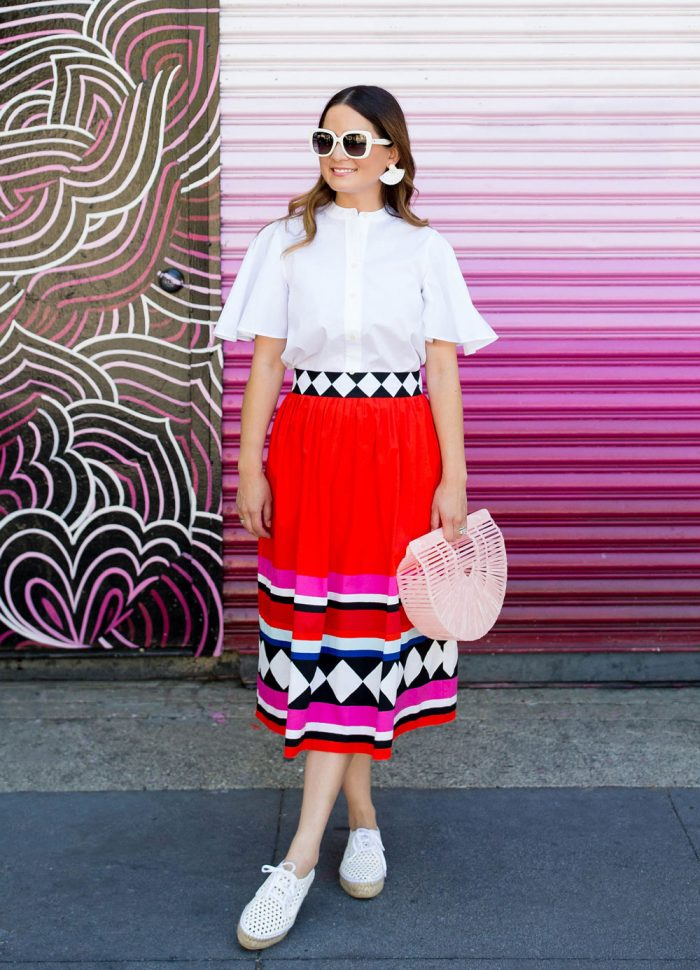 One Kate Spade New York Skirt Three Ways