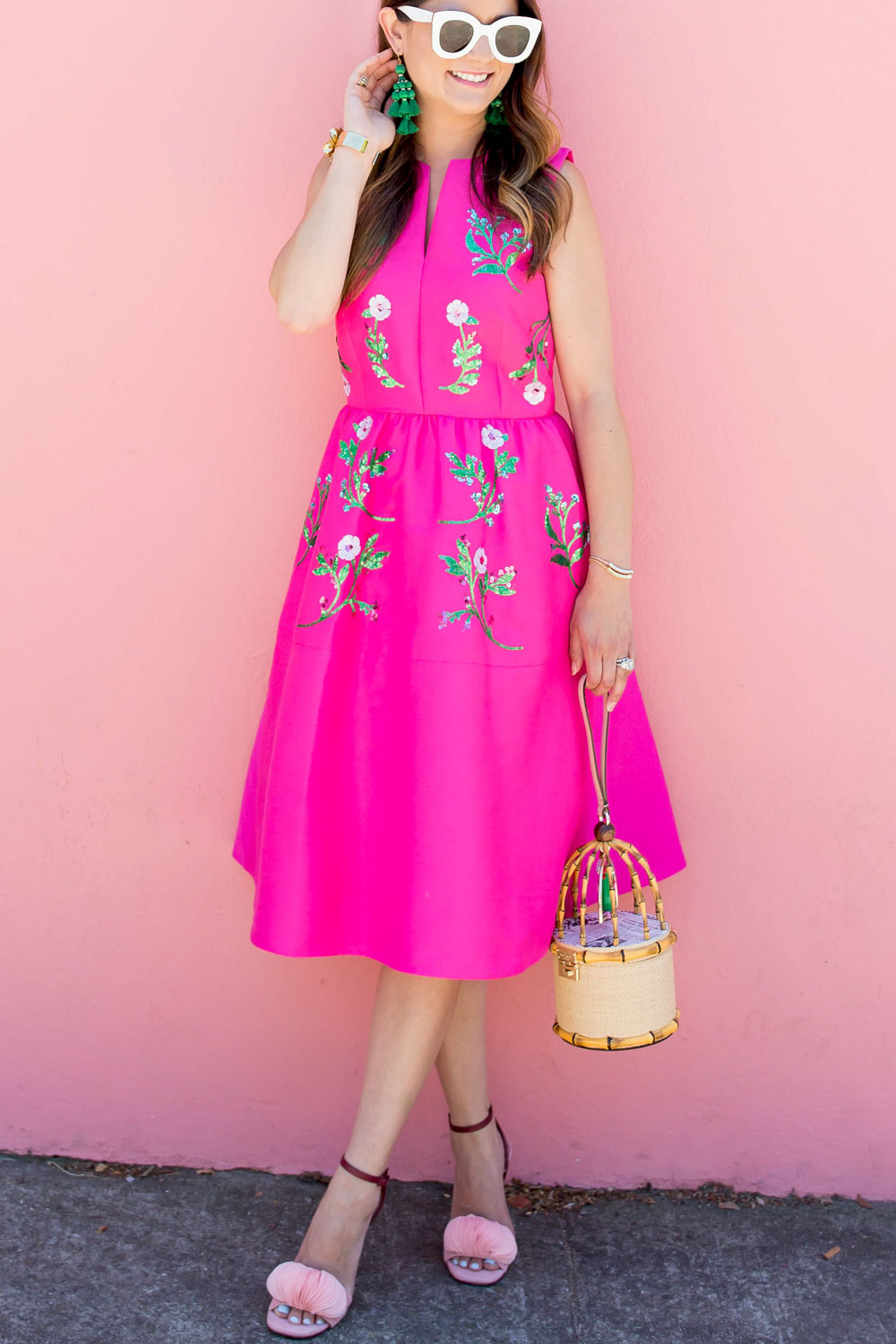 Kate Spade Floral Embellished Dress