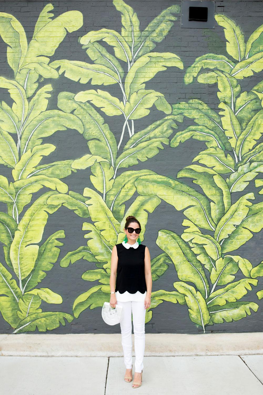 Leaf Mural Chicago