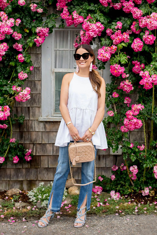 Nantucket Flower Covered House