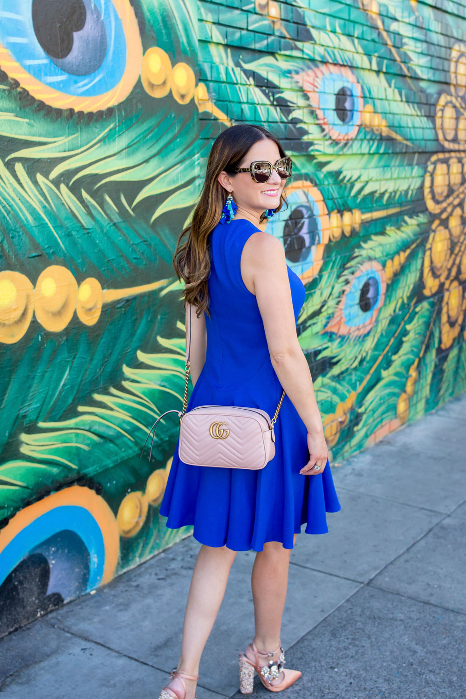 Pink Gucci Matelasse Crossbody Bag