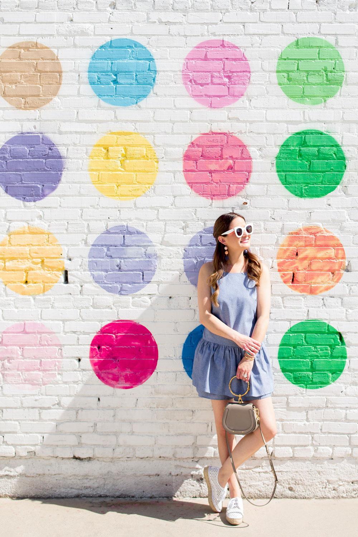 Polka Dot Wall Los Angeles Springs