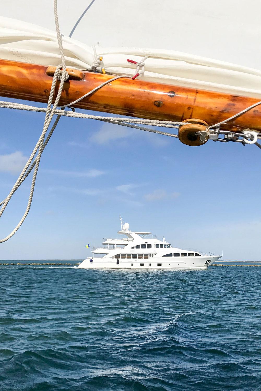 Sailing Excursion Around Nantucket