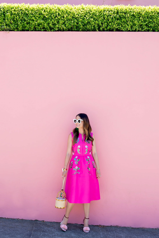 San Francisco Pink Wall House