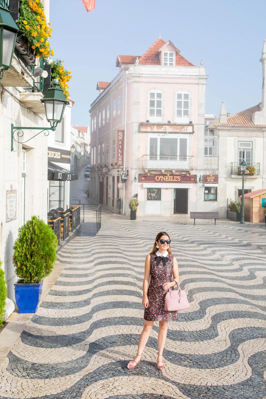Cascais Portugal Swirl Tile Pattern