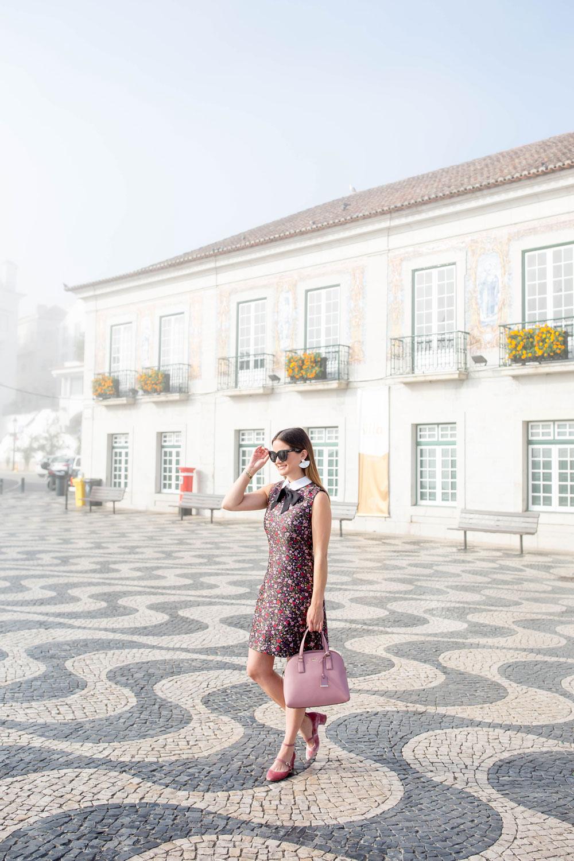 Cascais Portugal Town Square Tile