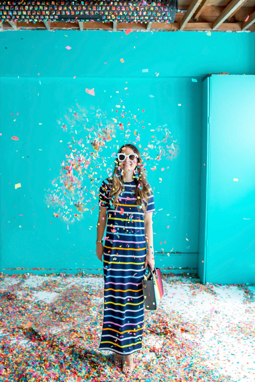 Color Factory Confetti Room
