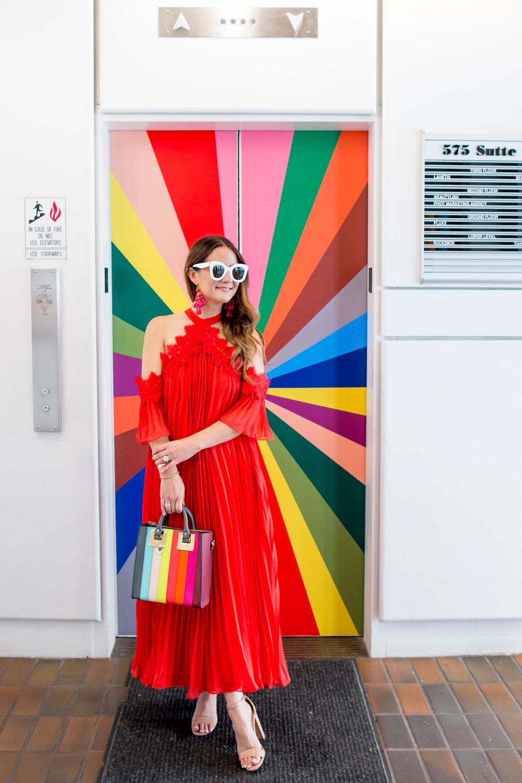 Color Factory Rainbow Elevator