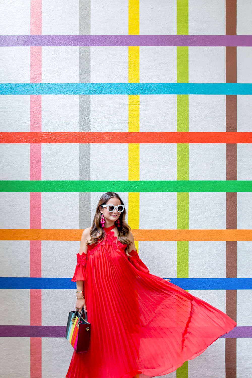 Color Factory Rainbow Grid Wall