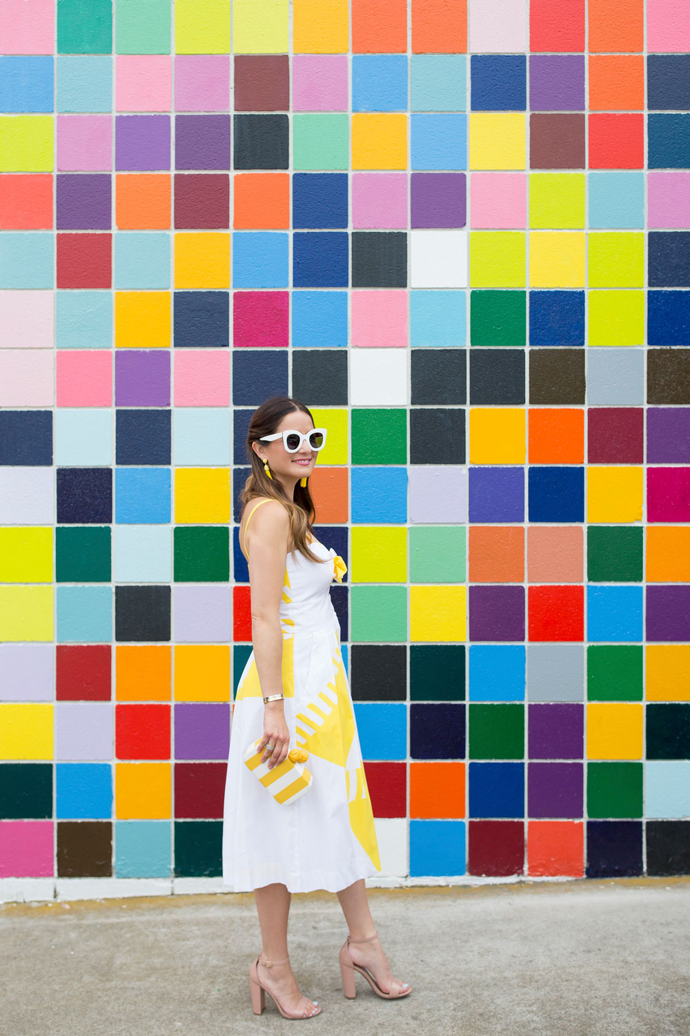Colorful Tile Wall in San Diego