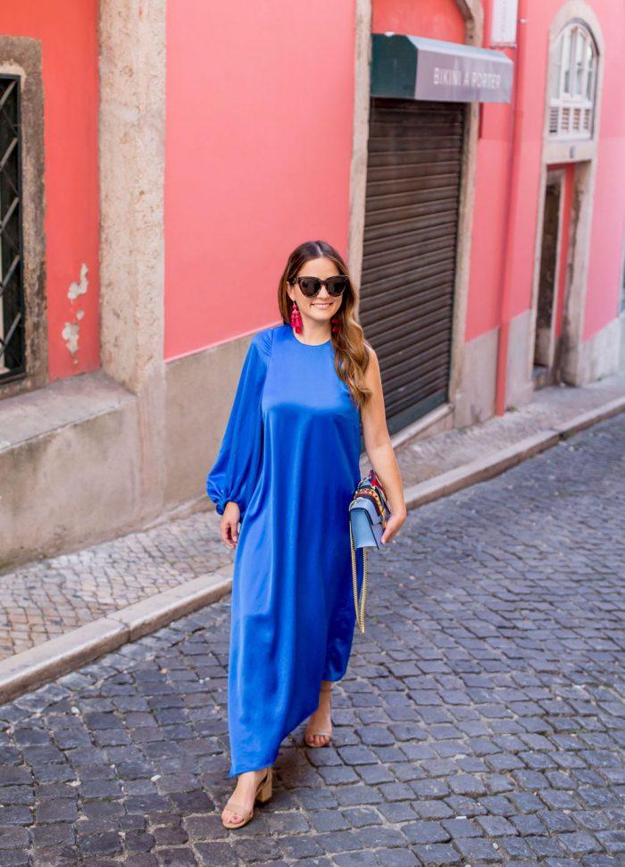 Tibi Celestia Dress | Lisbon, Portugal