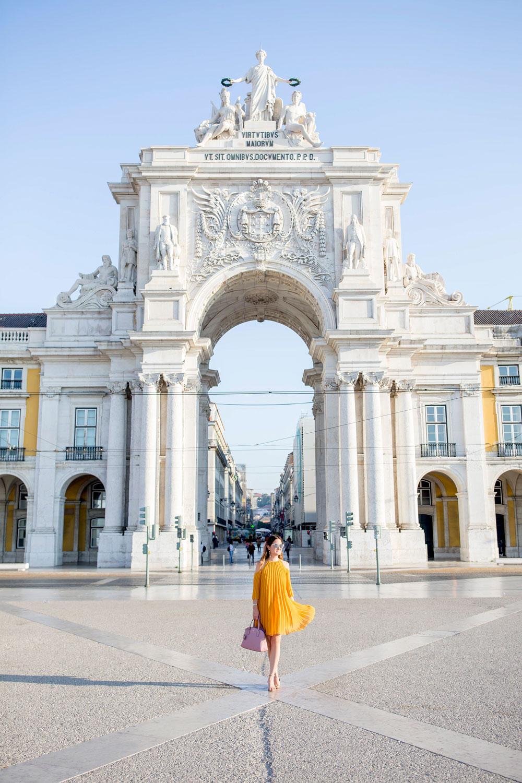Lisbon Square Archway