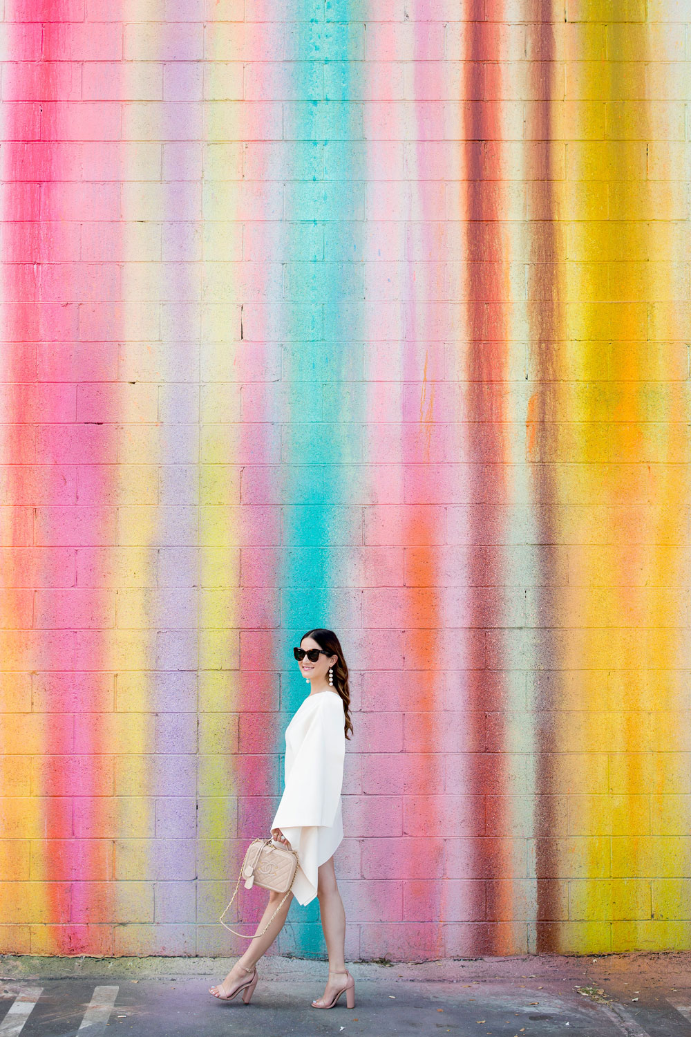 Los Angeles Dripping Paint Mural
