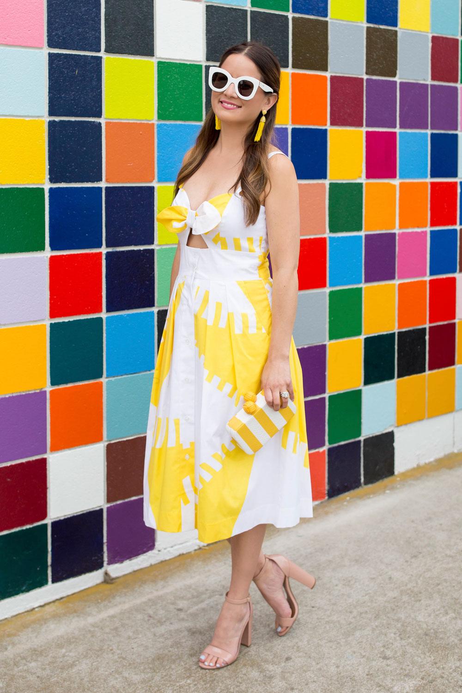 Milly Spinnaker Print Dress