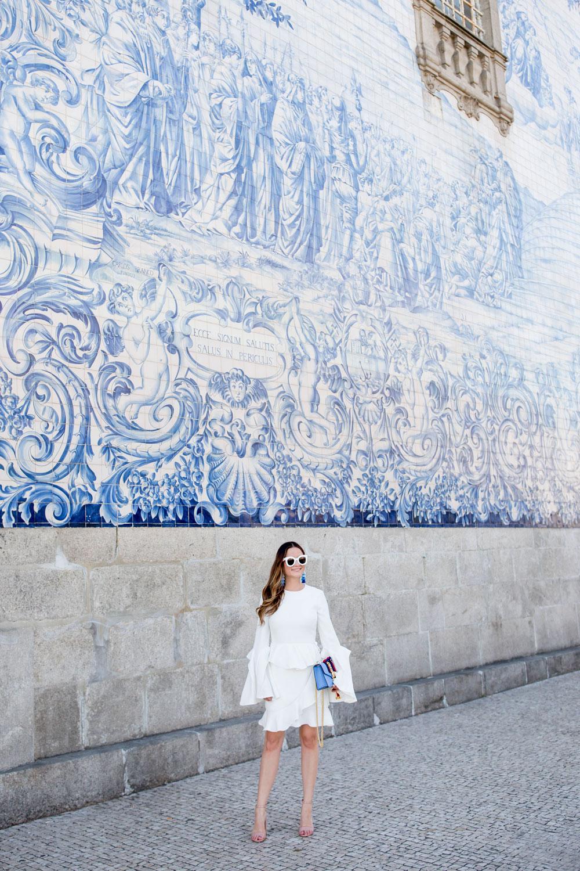 Porto Portugal Blue Tile Church