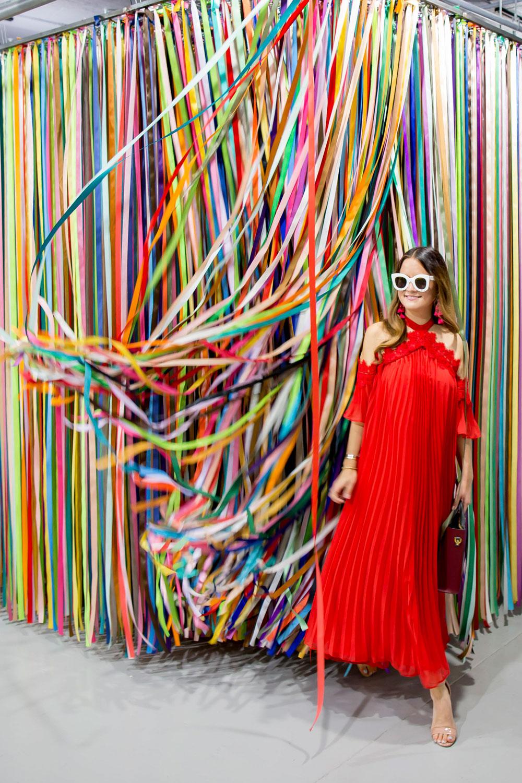 Rainbow Ribbons Installation San Francisco