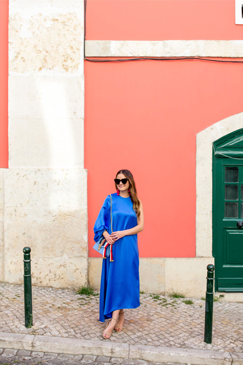 Tibi One Sleeve Dress