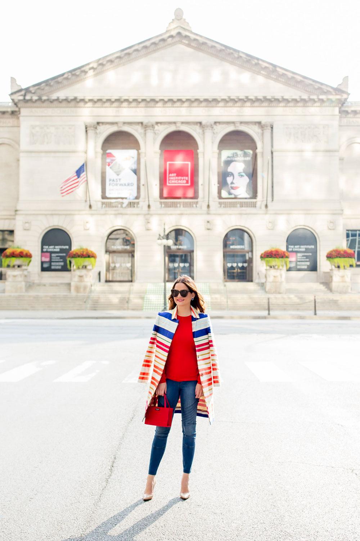 Art Institute Chicago Blogger Photoshoot